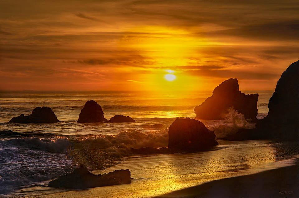 Pacific in Gold